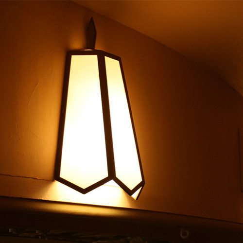 Example of light shade